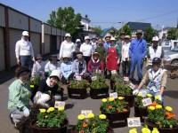 白樺町内の花を育てる会の皆さん