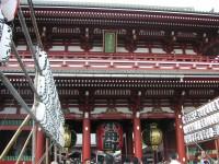 秋の日の浅草寺