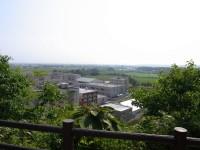 「わたなべ山」山頂からキャンパス一望