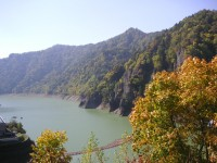 豊平峡ダム・定山湖