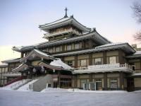 札幌・雪の西本願寺