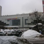 同日3/13の札幌駅北口の雪