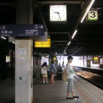 桑園駅から列車に乗って