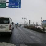 石狩大橋通過 12/10 10:50