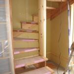 階段の上り口