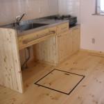 キッチンと床下収納庫
