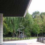 近代美術館のエントランス