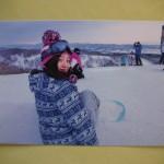 石狩平原スキー場にて