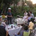 夏のガーデンパーティ
