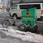 自転車で配達すいすい
