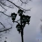 道庁の街灯