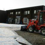 エコアパートと除雪機