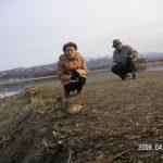 2009年4月.宮島沼
