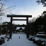 当別神社の大鳥居